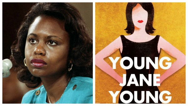 Anita Hill and Young Jane Young book cover