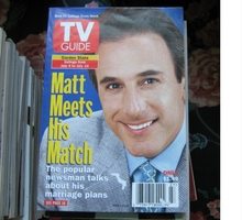 Matt Lauer on the cover of TV Guide