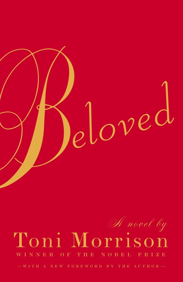 a red book cover with gold lettering