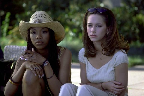 Brandy and Jennifer Love Hewitt in I Still Know