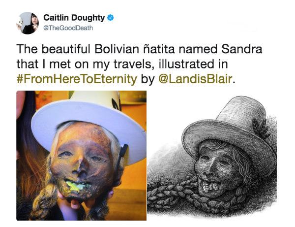 Caitlin Doughty tweet