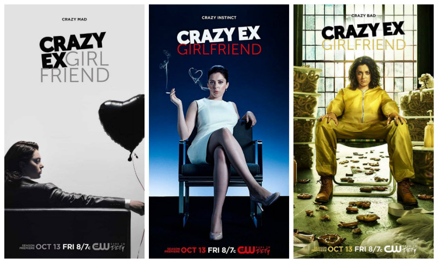 Crazy Ex-Girlfriend season 3 promotional posters