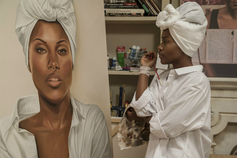 DeWanda Wise as Nola Darling In She's Gotta Have It