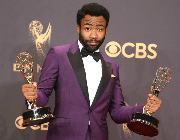 Donald Glover at the Emmys