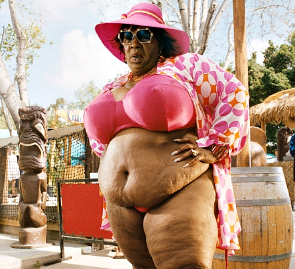 Eddie Murphy as Rasputia in Norbit