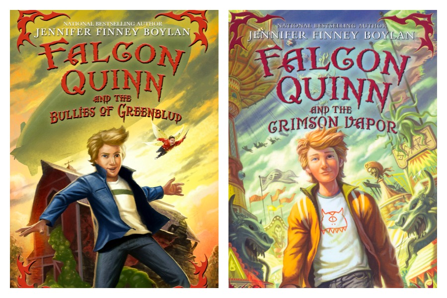 Falcon Quinn books