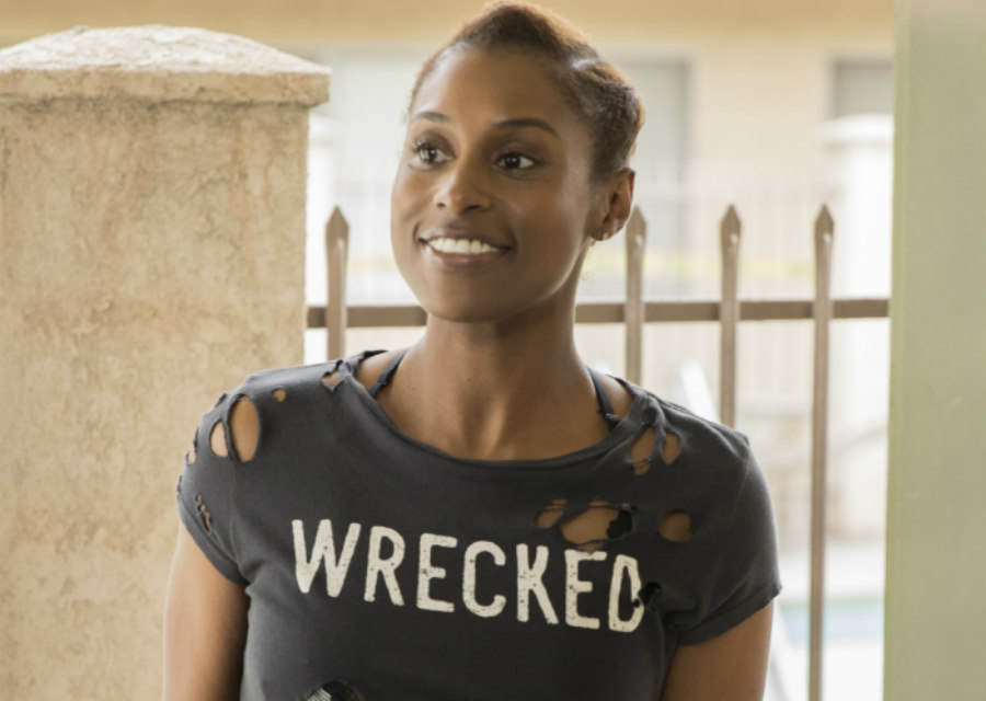 Issa Rae as Issa on Insecure