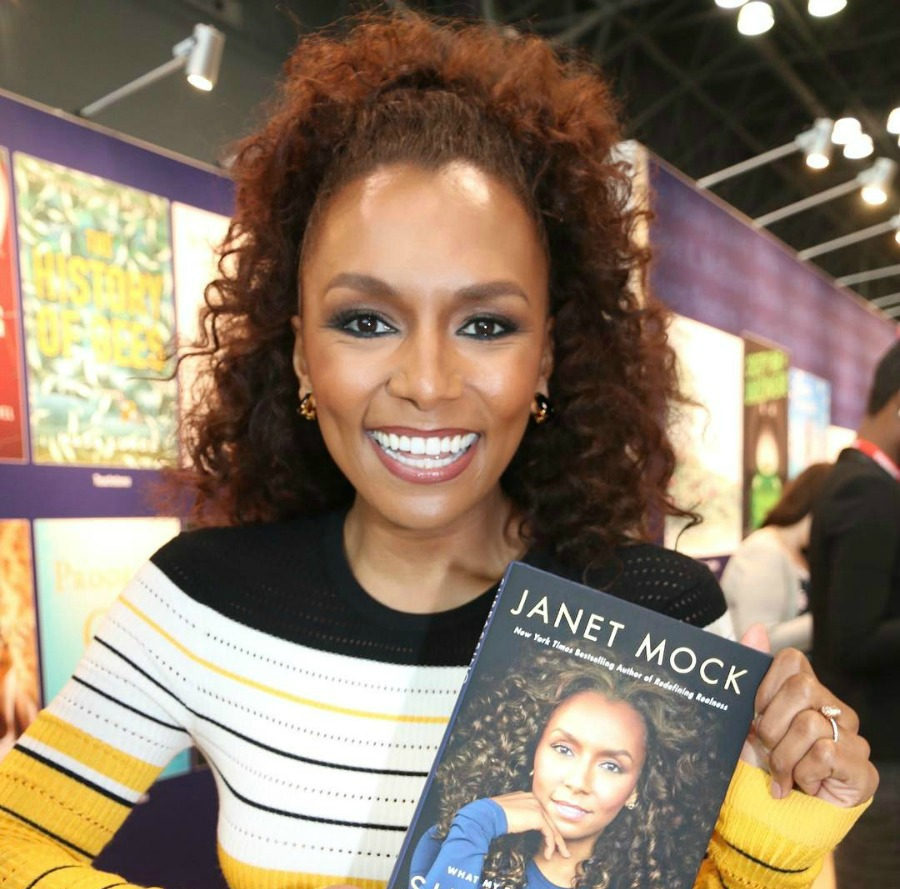 Janet Mock Holding Surpassing Certainty