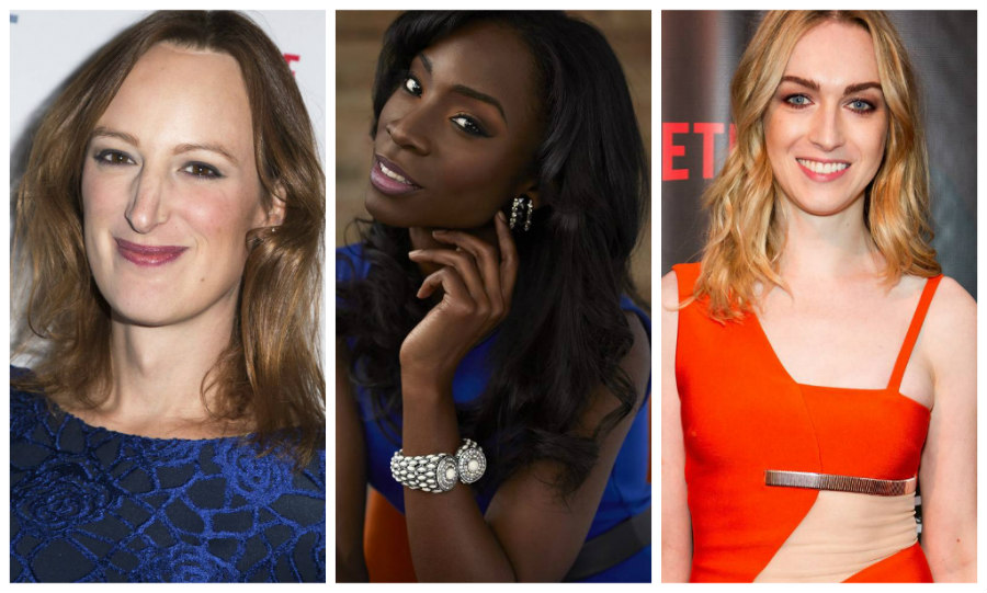 Jen Richards, Angelica Ross, and Jamie Clayton
