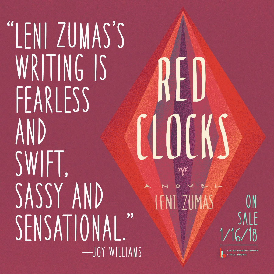 Joy Williams praises Red Clocks