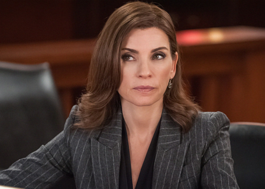 Julianna Marguiles as Alicia Florrick on The Good Wife