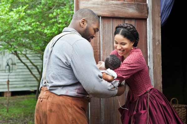 Jurnee Smollett-Bell and Theodus Crane in Underground
