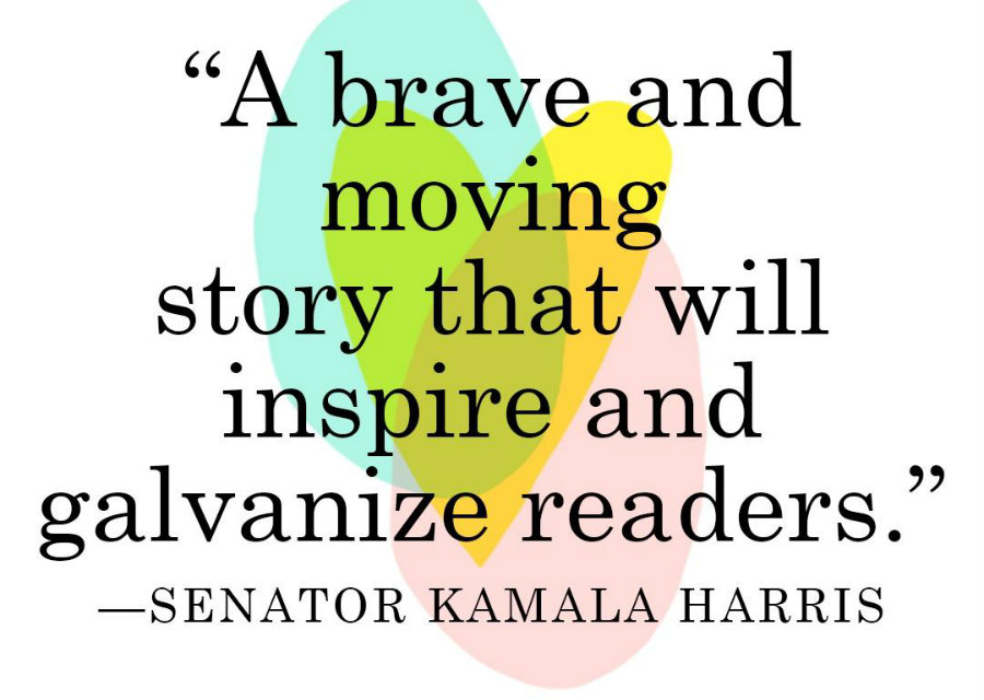 Kamala Harris blurb for Sarah McBride's Tomorrow Will Be Different