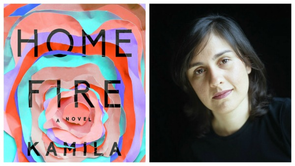 Kamila Shamsie and Home Fire book cover