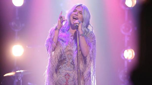 Kesha on the Tonight Show