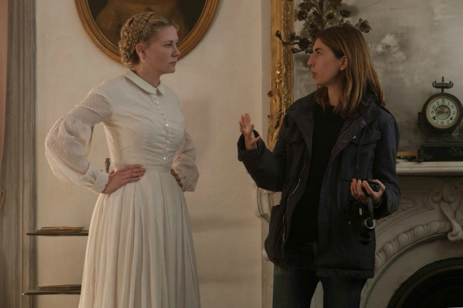 Kirsten Dunst and Sofia Coppola The Beguiled