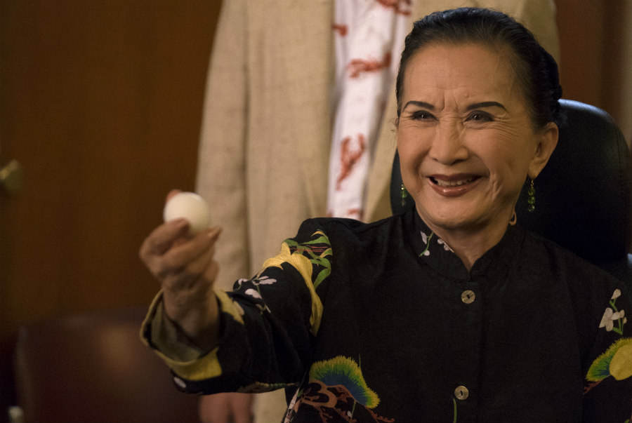 Lucille Soong as Grandma Huang in Fresh Off the Boat