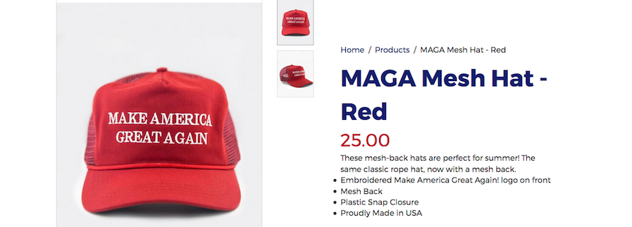 ae41e696ed5 Make America Great Again By Buying All This Ugly Trump Merch