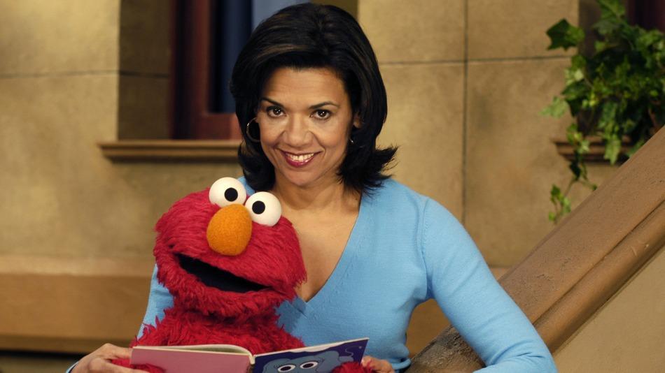 Maria and Elmo