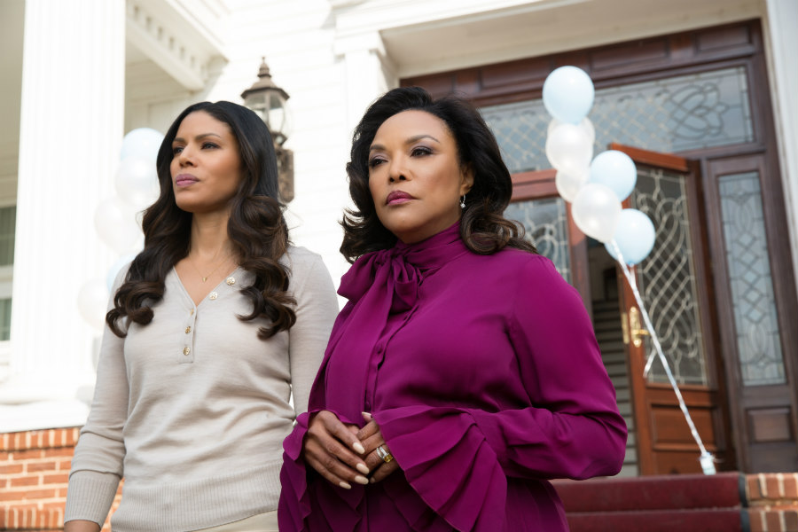 Merle Dandridge as Grace Greenleaf and Lynn Whitfield as Lady Mae Greenleaf on Greenleaf
