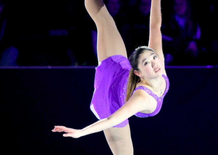 Mirai Nagasu at Ice Chips 2012