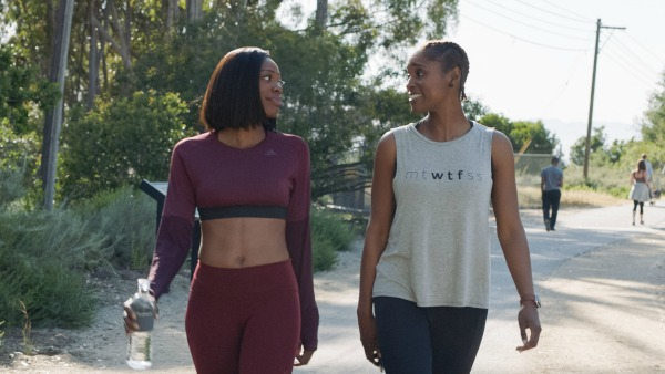 Molly and Issa on Insecure