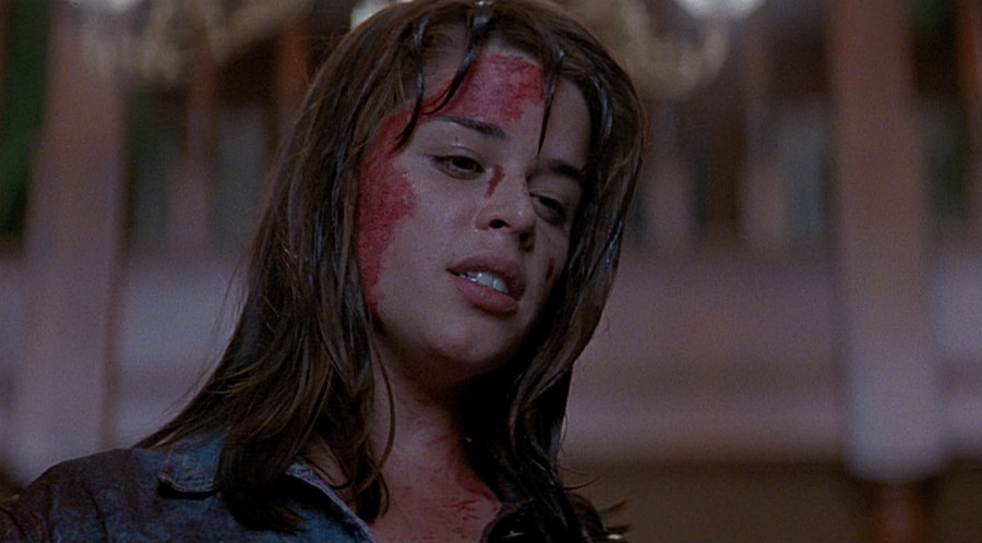 Neve Campbell as Sidney Prescott in Scream