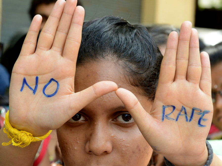 No Rape protest in India