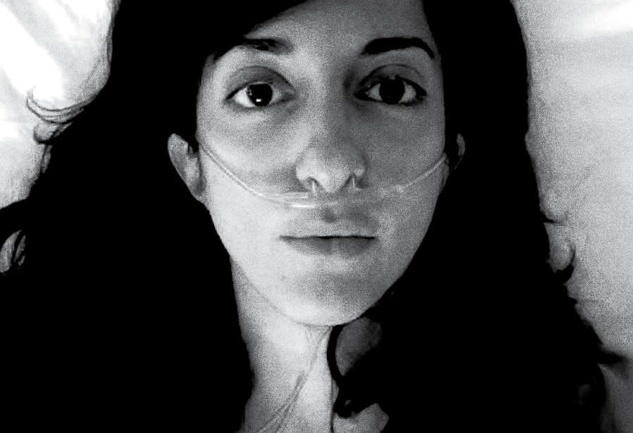Porochista Khakpour on the cover of Sick: A Memoir