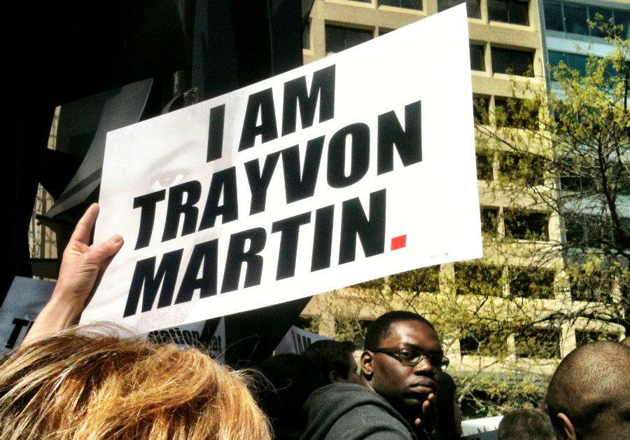 Rally for Trayvon Martin Outside the ALEC Headquarters