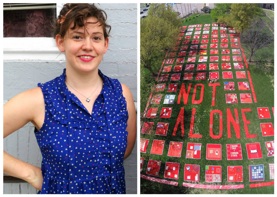 Rebecca Nagle and The Monument Quilt
