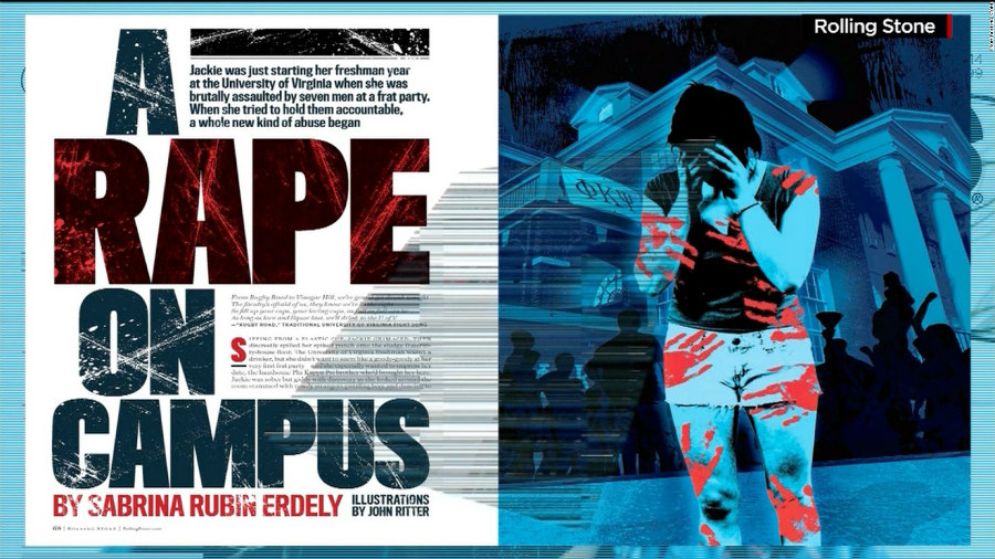 "Rolling Stone's ""A Rape On Campus"" story"