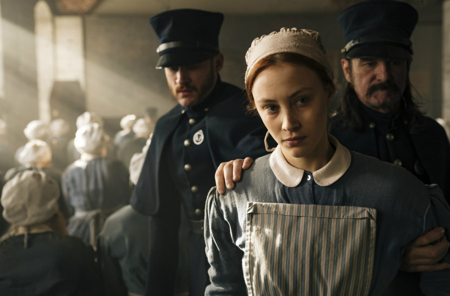 Sarah Gadon as Grace Marks in Alias Grace