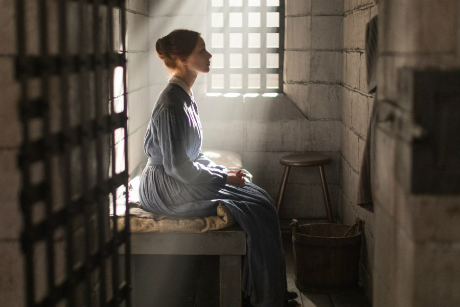 Sarah Gadon as Grace Marks in Alias Grace