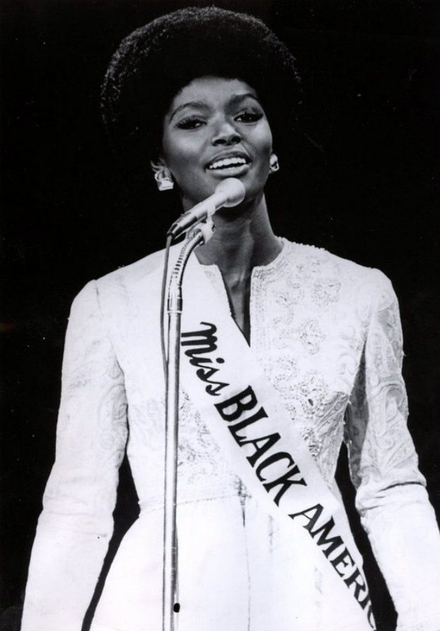 Saundra Williams, the first Miss Black America, in 1968