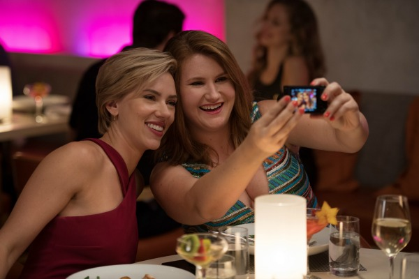 Scarlett Johansson and Jillian Bell in Rough Night