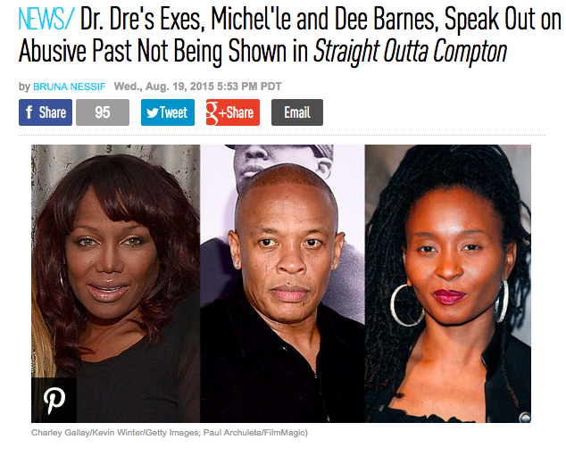 Dr Dre S Assault On Dee Barnes Was Originally In Straight Outta
