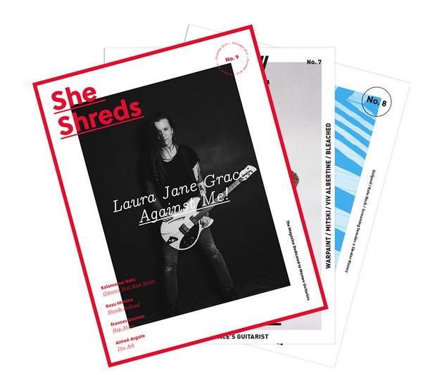 she shreds magazine