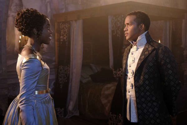 Sterling Sulieman and Lashana Lynch in Still Star-Crossed