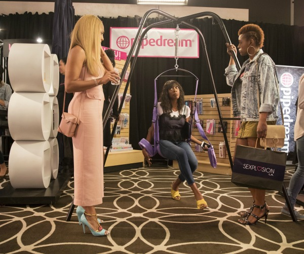 Tiffany, Issa, and Molly on Insecure