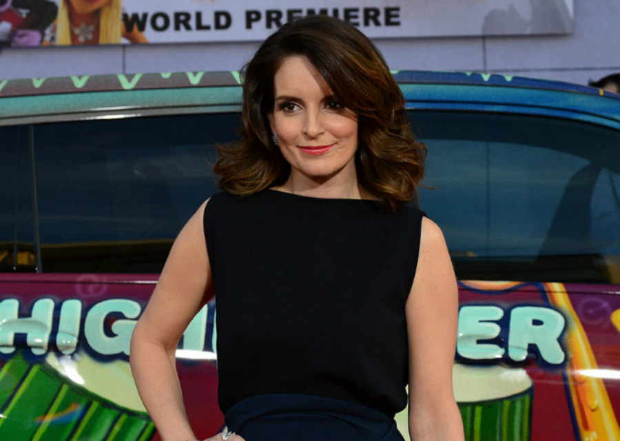 Tina Fey at the Muppets Most Wanted Premiere at the El Capitan Theater in Hollywood on March 11, 2014