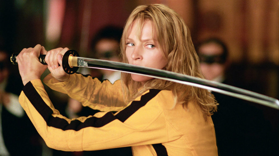 Uma Thurman as The Bride in Kill Bill Volume 1