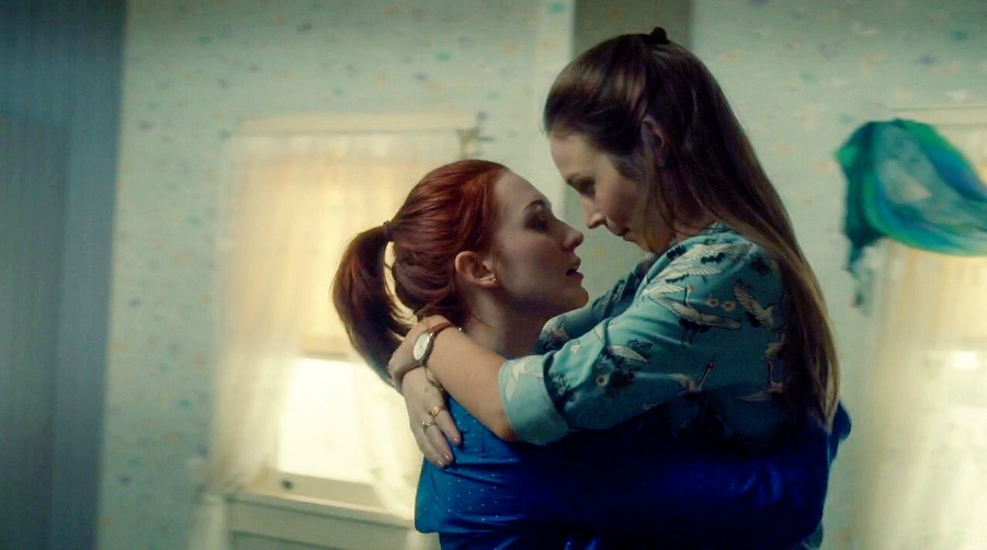 Wynonna Earp Waverly and Nicole
