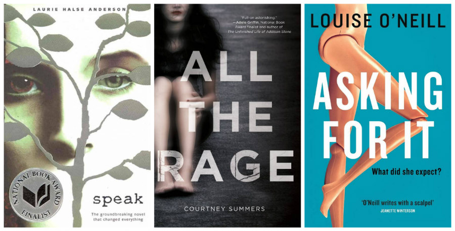 YA books about sexual assault