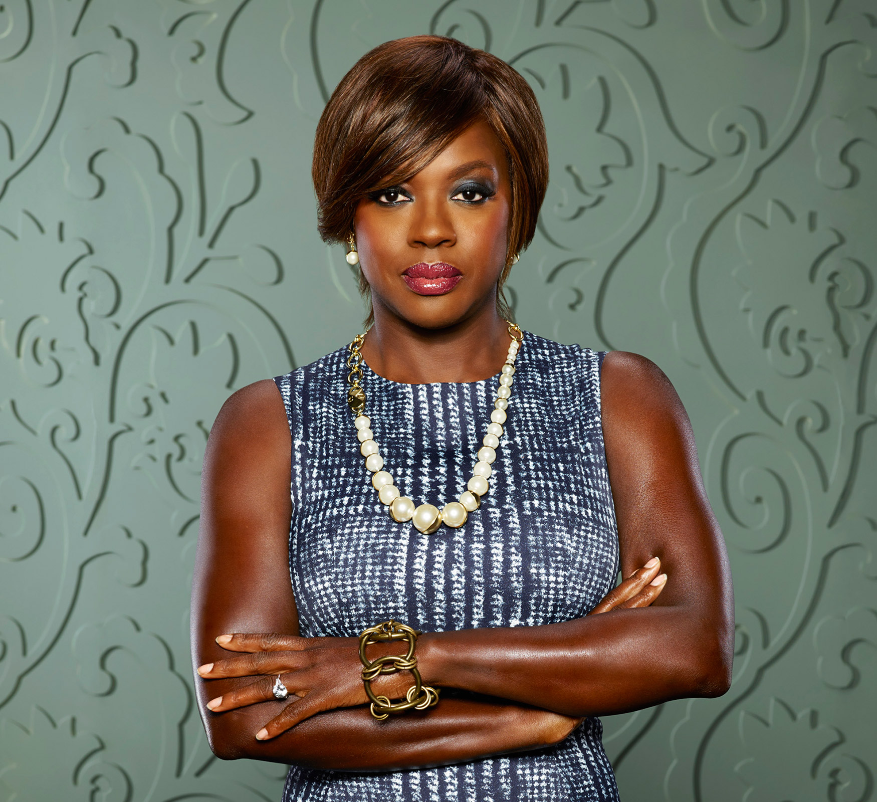Viola Davis, a dark-skinned Black woman, plays Annalise Keating on How to Get Away with Murder