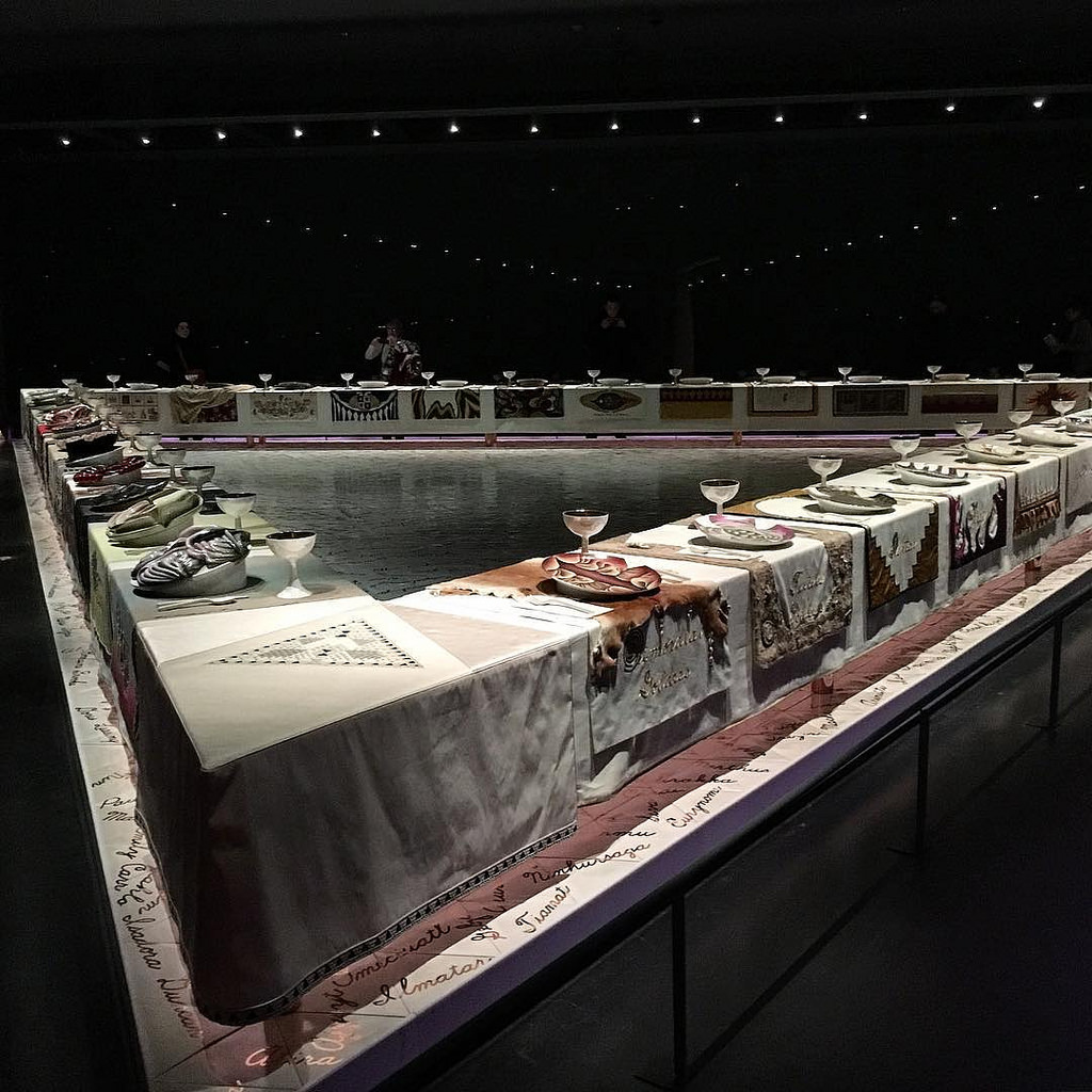 The Dinner Party Judy Chicago