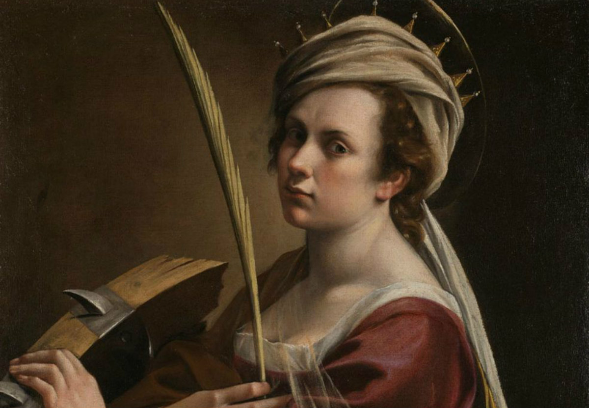a portrait of a white woman with a crown holding a feather