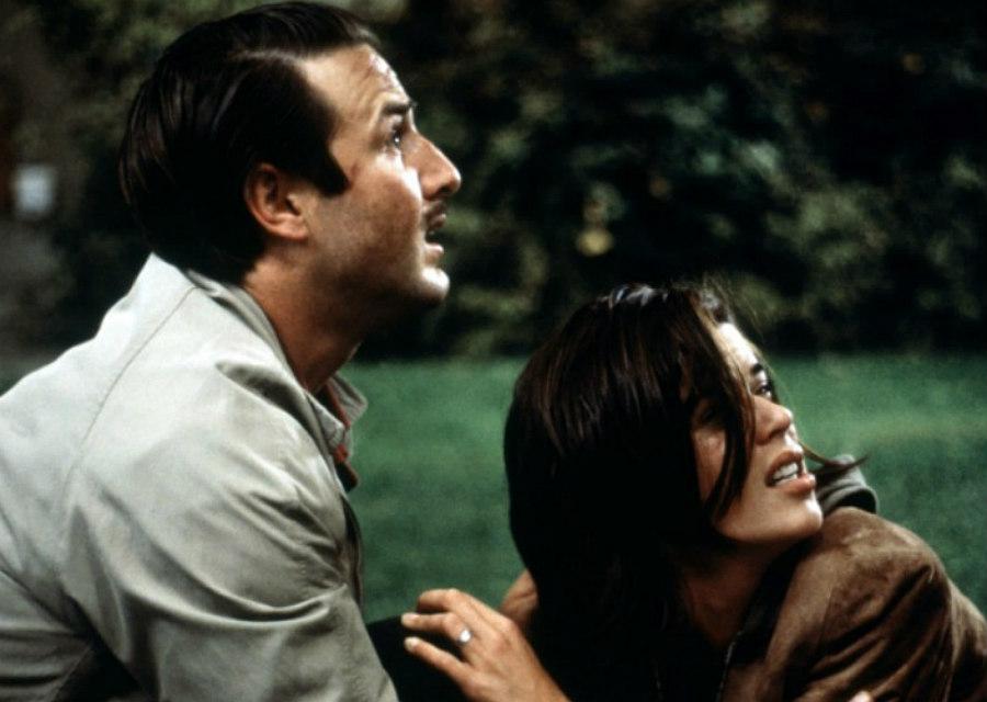 David Arquette And Neve Campbell In Scream 3
