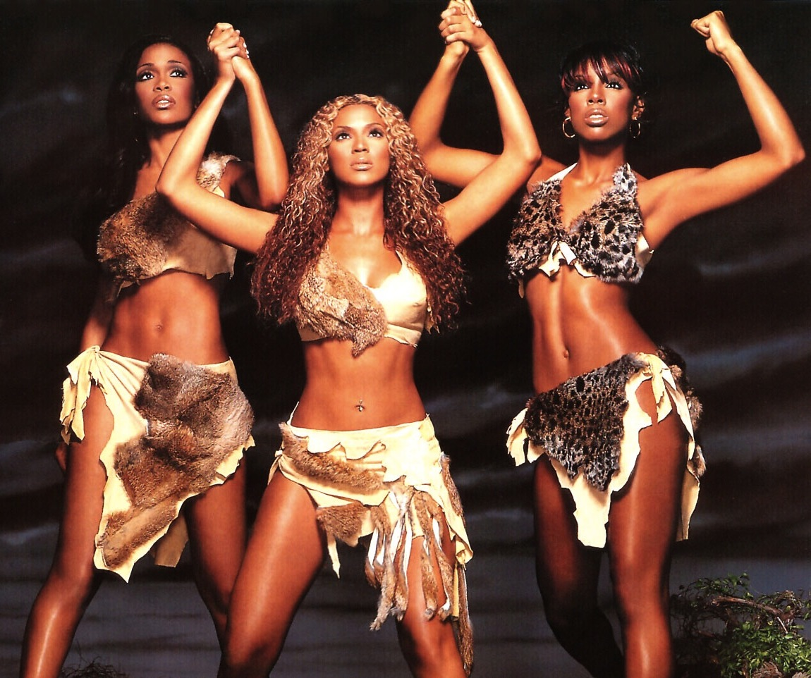 "Destiny's Child in the ""Survivor"" video"