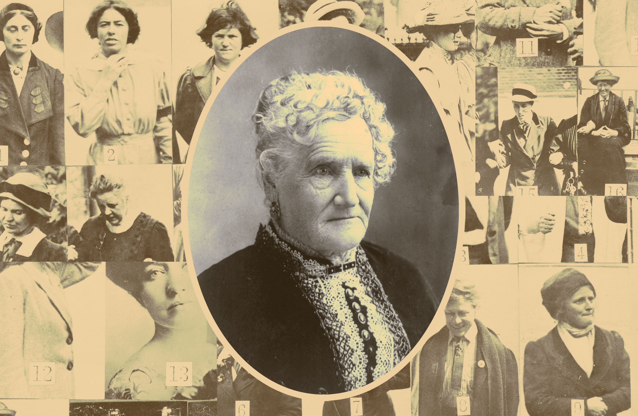 Esther Hobart Morris, the first female Justice of the Peace in the United States